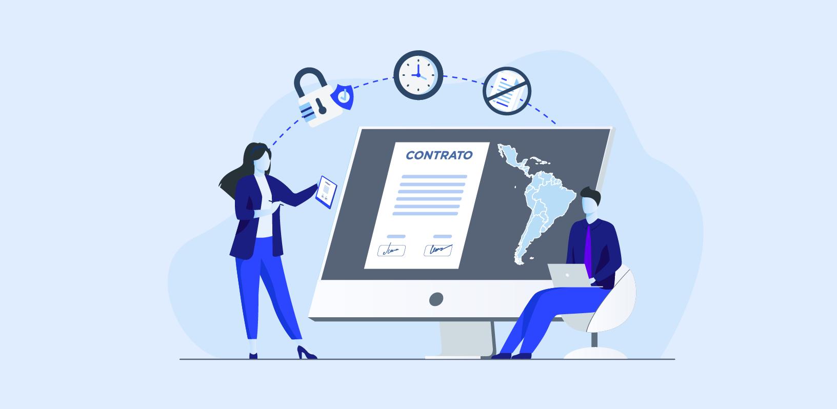 La firma electrónica o digital en Latinoamérica: tipos de firmas y sus ventajas (II)