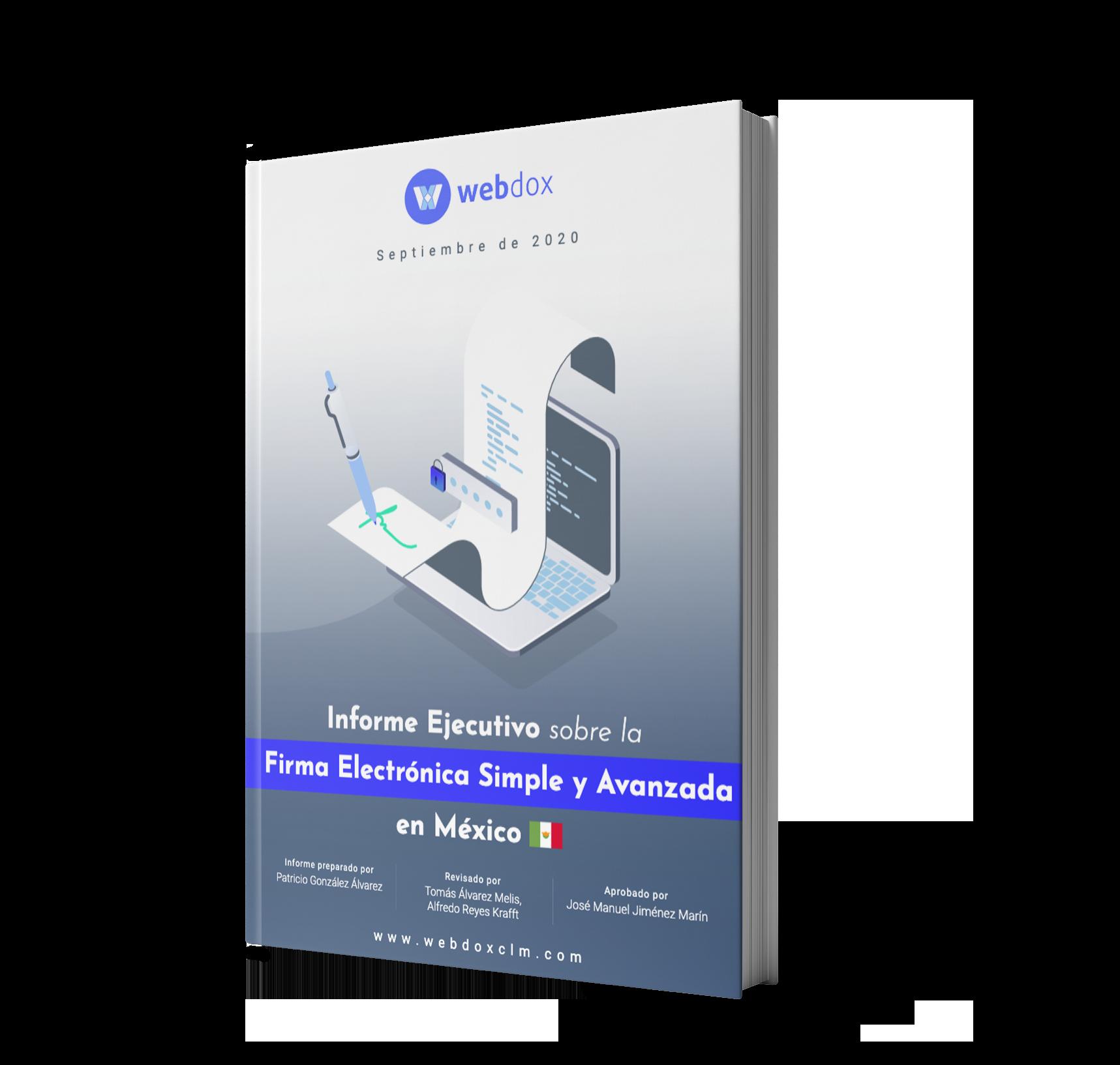 Miniatura informe ejecutico firma electrónica Mexico